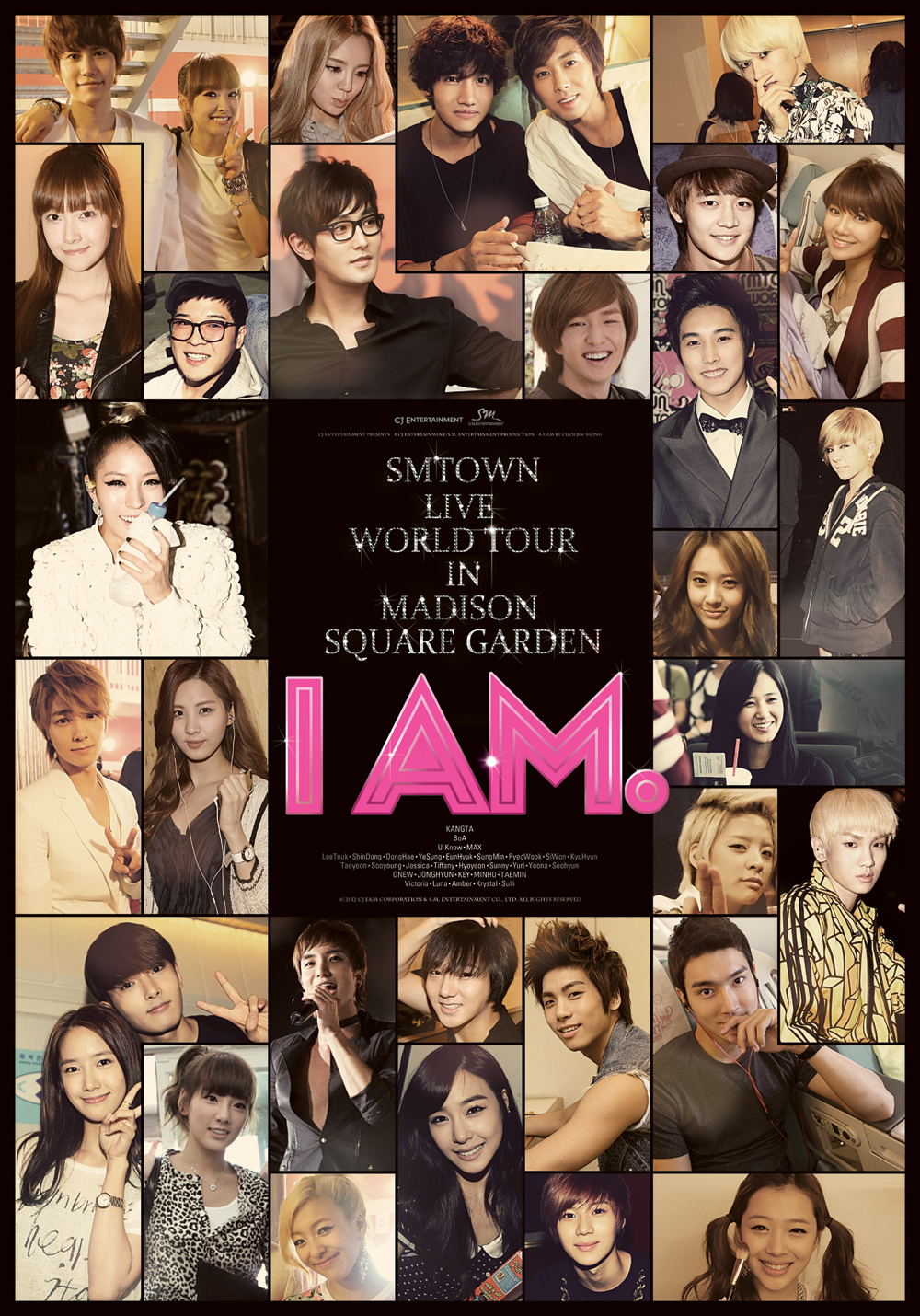 I AM : SMTOWN LIVE WORLD TOUR in Madison Square Garden